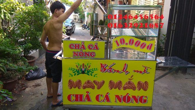 Cho thuê xe bánh mì chả cá giá rẻ ở Sài Gòn