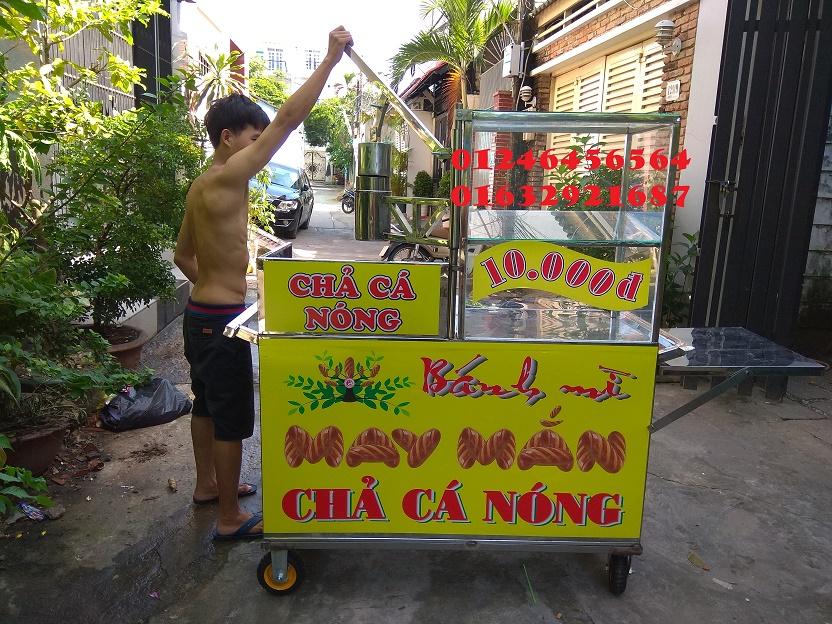 Đơn vị chả cá Vũng Tàu cho thuê xe bánh mì chả cá chất lượng