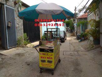 Cho thuê xe bánh mì chả cá chất lượng tại Long An, Tiền Giang, Bến Tre