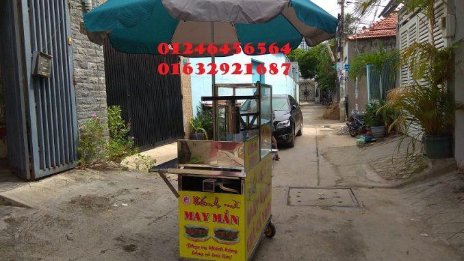 Địa chỉ cho thuê xe bánh mì chả cá ở Đồng Tháp, Vĩnh Long, Cần Thơ