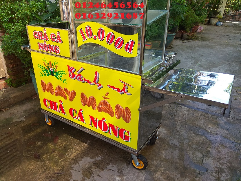 Chả cá Vũng Tàu - địa chỉ thuê xe bánh mì chả cá giá rẻ